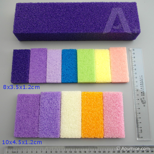 Disposable Pedicure Pumice Sponge For Feet